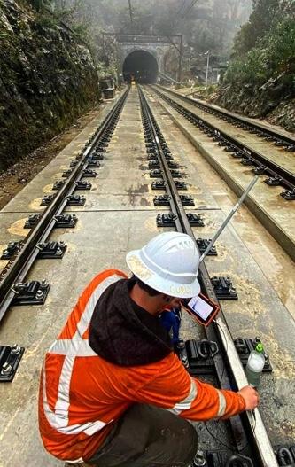 Rail maintenance in NSW