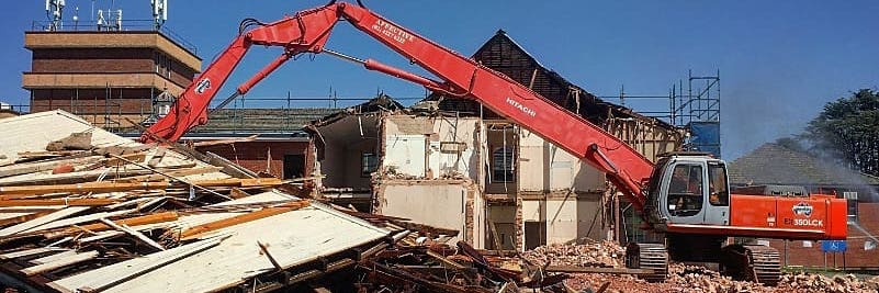 Demolition of a residence in NSW