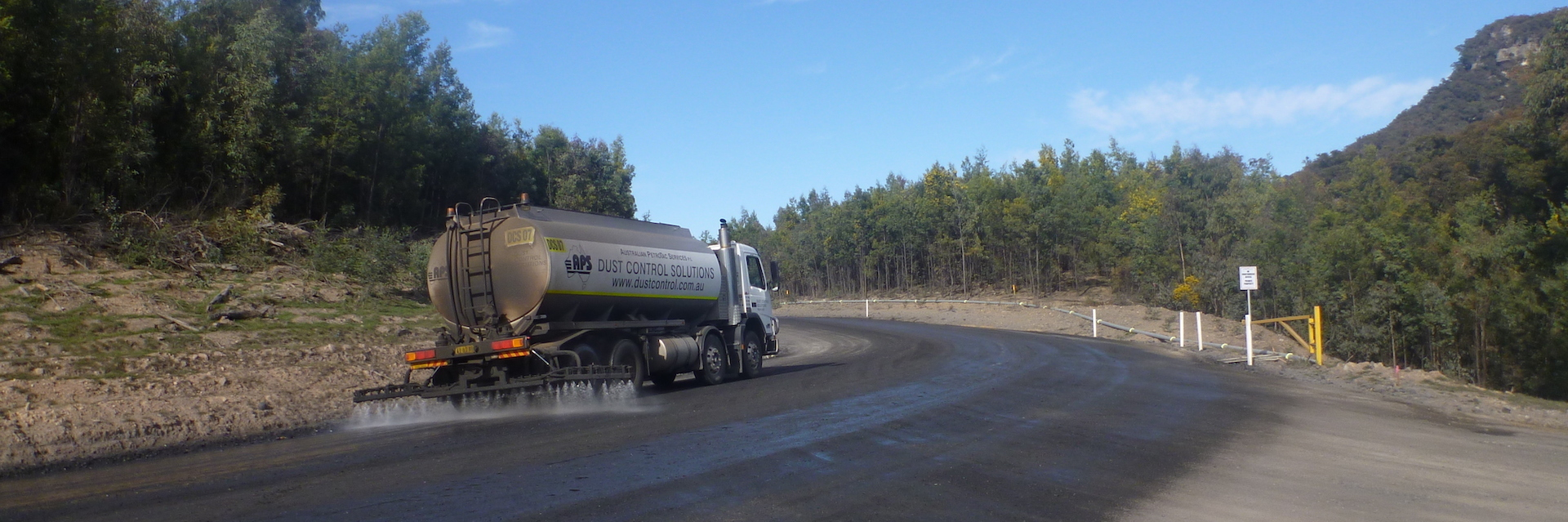 Dust Control Services Truck Watering
