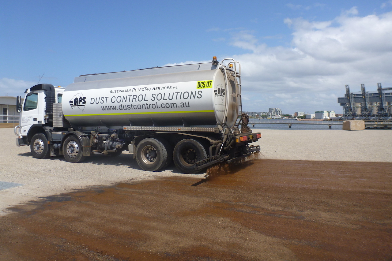 Dust control solutions truck in NSW
